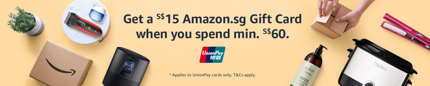 Get a S$15 gift card