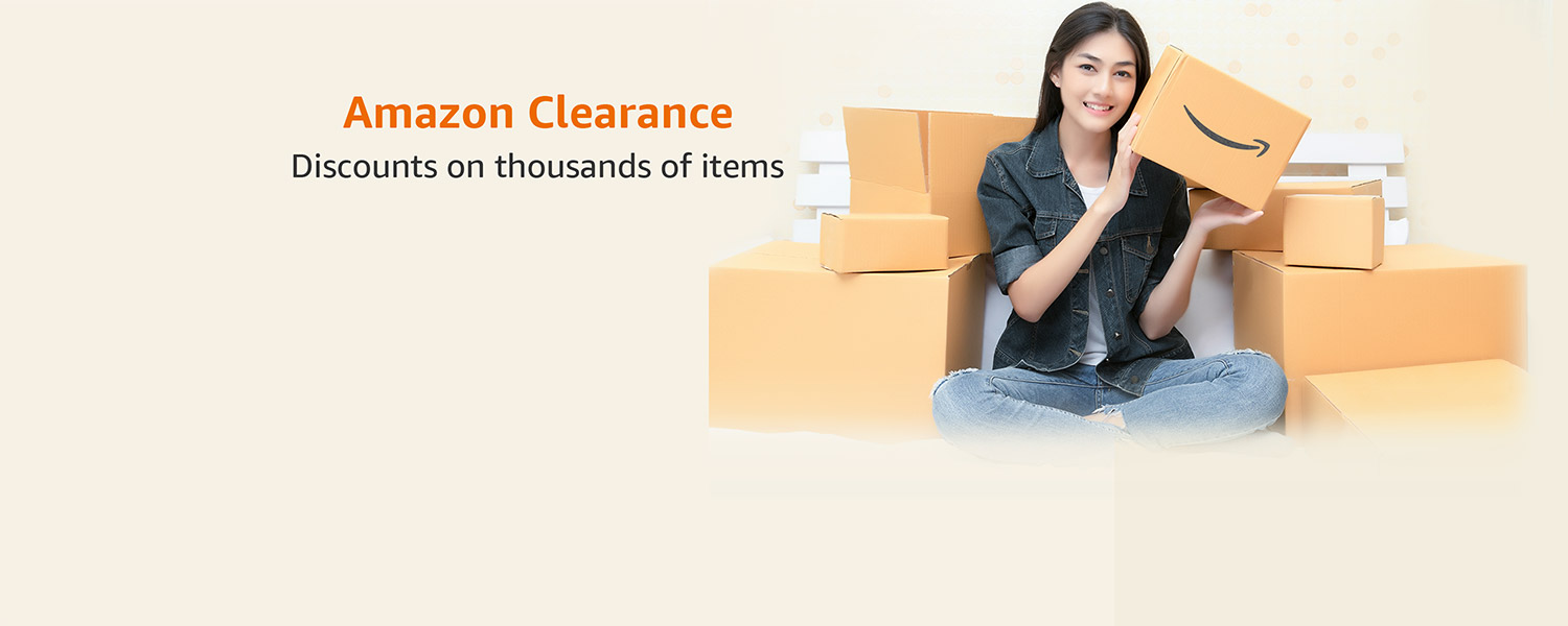 Amazon Clearance- Discounts on thousands of items