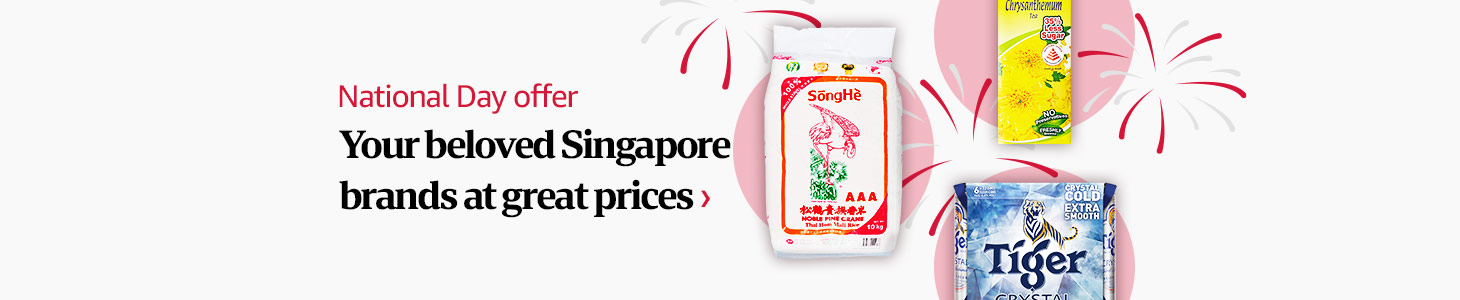 National Day Offer Your beloved Singapore brands at great prices