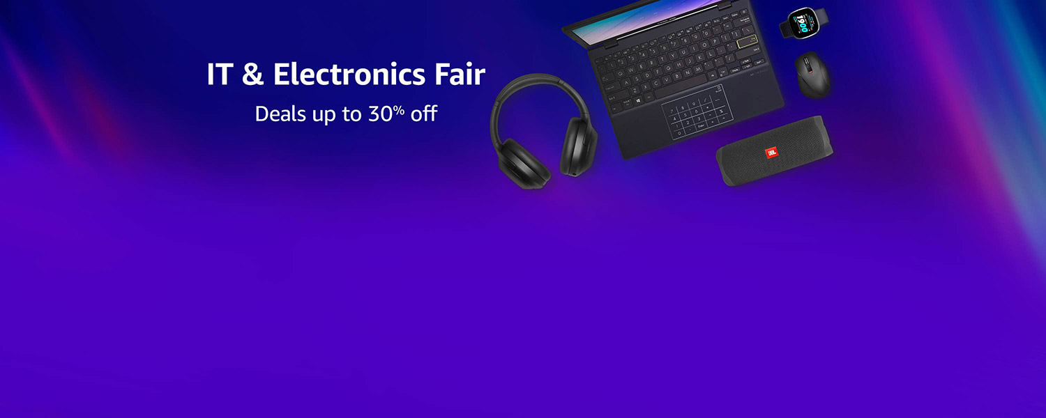 IT & Electronics Fair | Deals upto 30% off