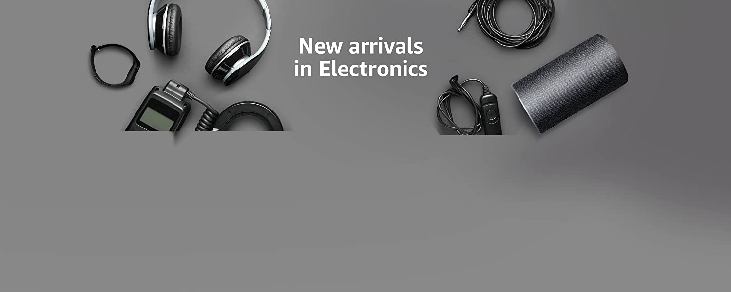 New arrivals in Electronics