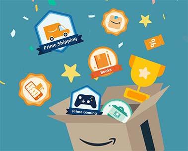 Amazon Badges - collect as you shop