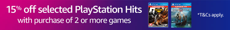 15% off selected PlayStation Hits