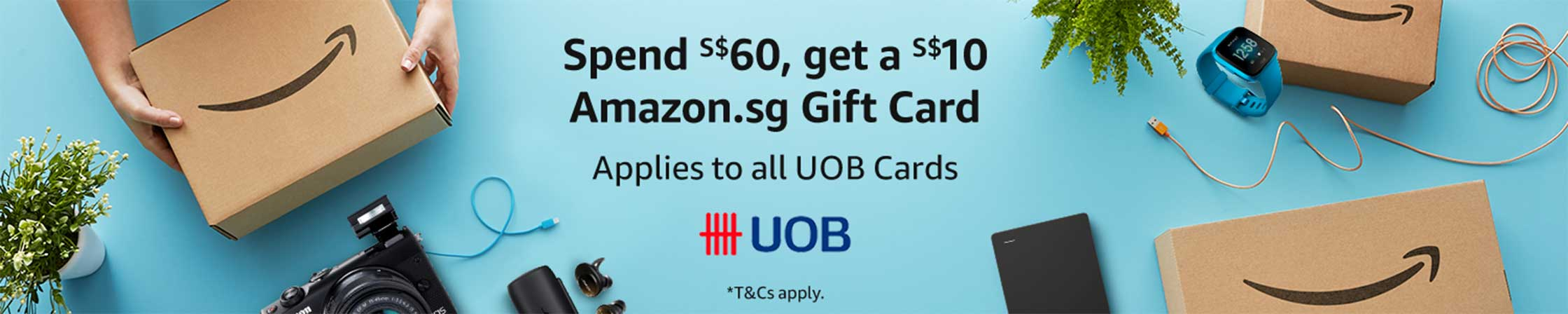 Get a S$10 Gift Card with S$60 spent