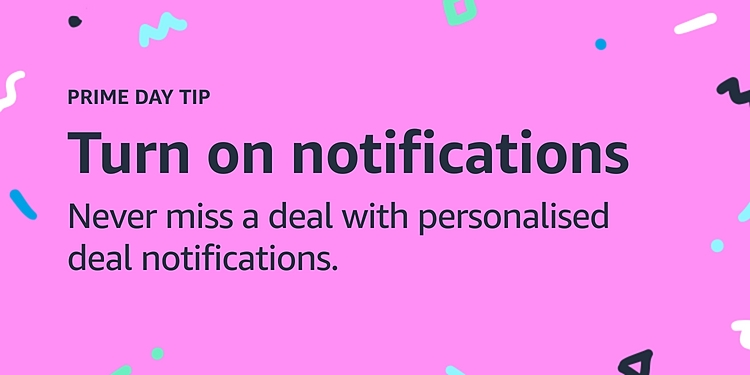 Turn on notifications to never miss a personalised deal notification.