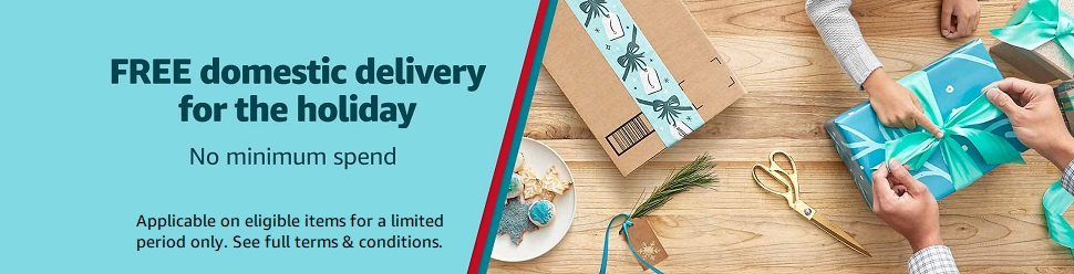 Free Domestic Delivery