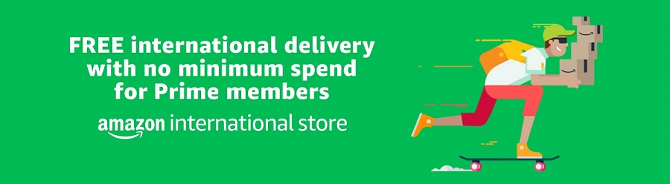 FREE International Delivery with Prime