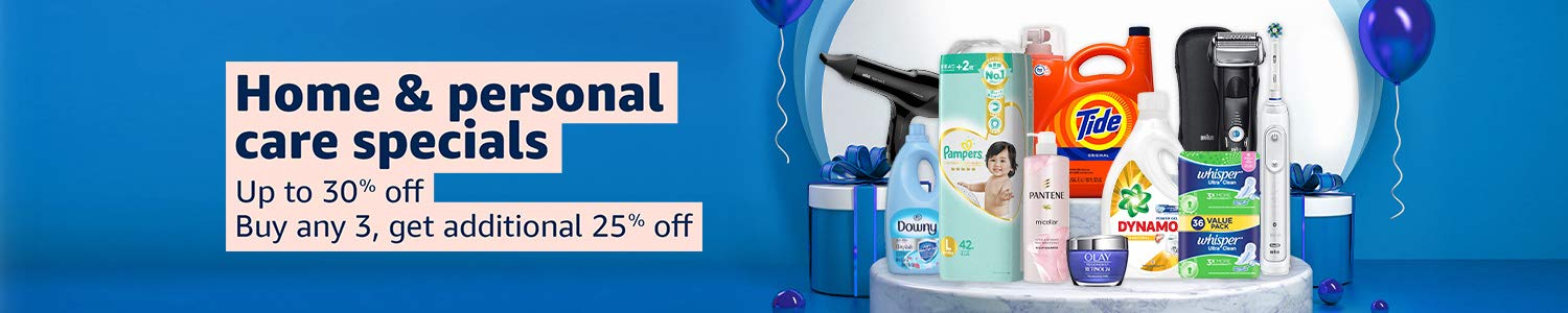 Up to 30% off on P&G| Any 3 get 25% off