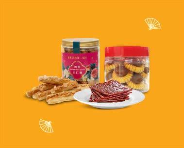 Festive snacks to munch on