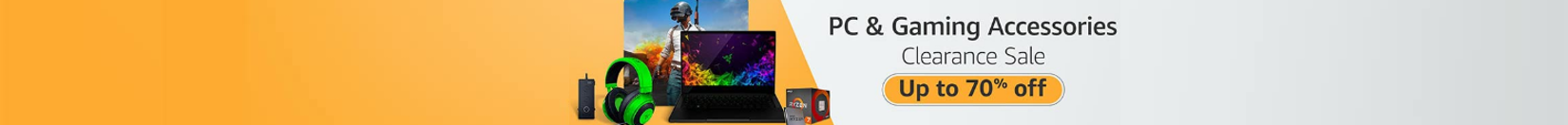 Up to 70% off PC & Gaming Accessories