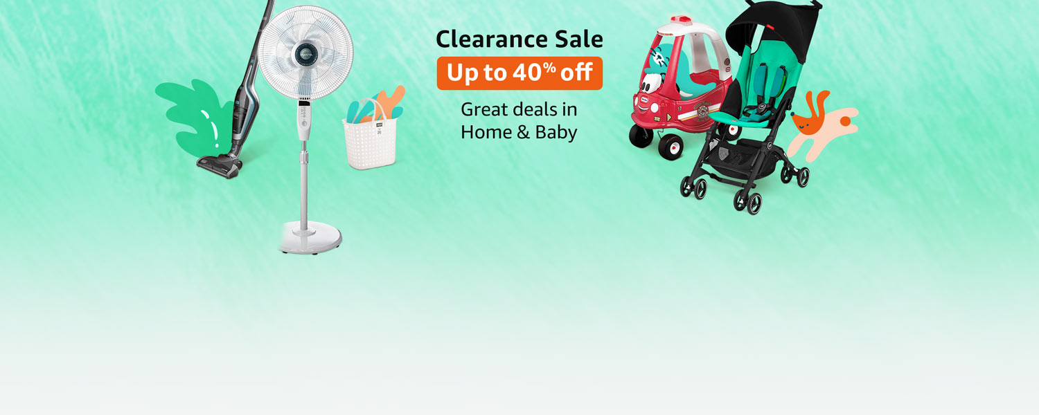 Clearance Sale Home and Baby