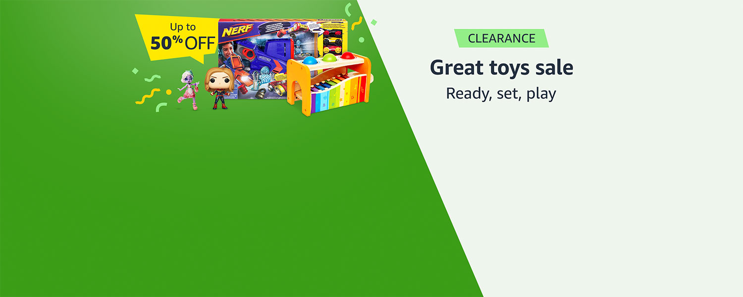 Great toys sale | Ready, set, play