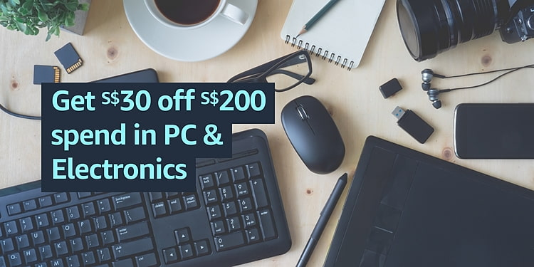 $30 OFF $200 in PC & Electronics