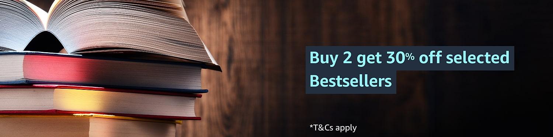 Buy 2 get 30% off selected bestsellers