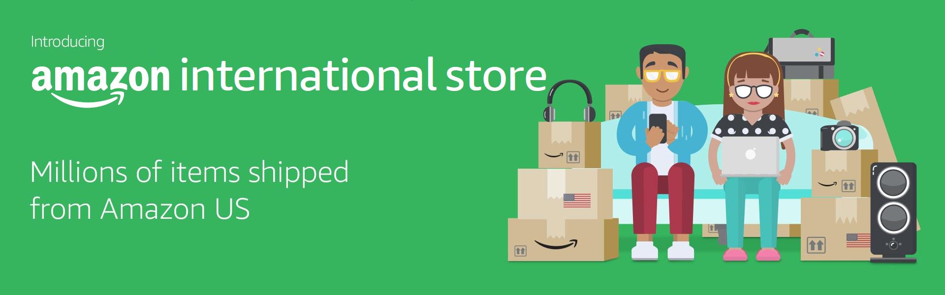 Amazon international store us products