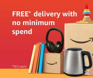 FREE delivery with no min. spend