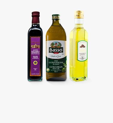 Oils, Vinegars & Salad Dressings