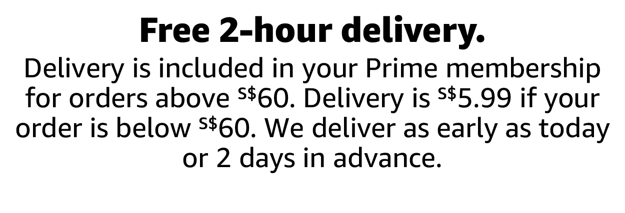 Free 2-hour delivery.