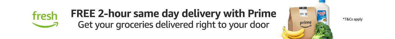 Fresh | Free 2-hour same day delivery