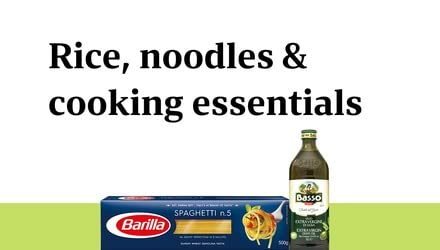Rice, Noodle and Cooking Essentials