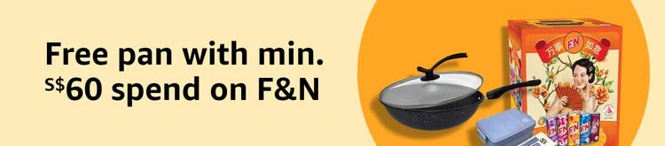 Free frying pan & lunch box set with min. S$60 spend