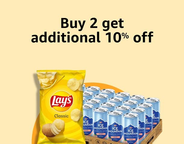 Buy any 2 get additional 10% off
