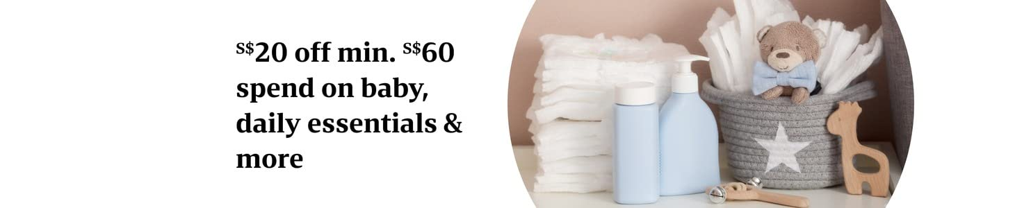 S$20 off S$60 on daily essentials