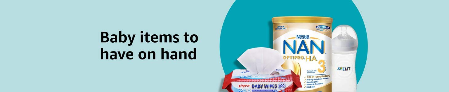 Baby items to have on hand