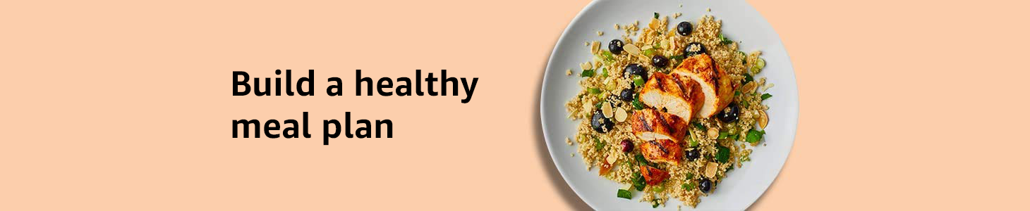 Build a healthy meal plan