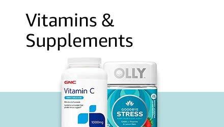 Vitamins, Minerals & Supplements