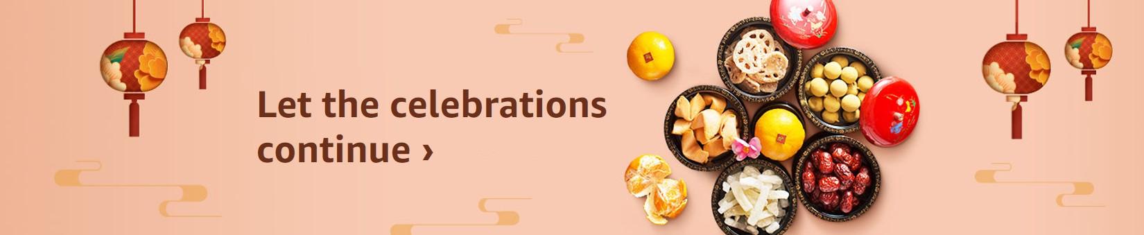 Let the celebrations continue