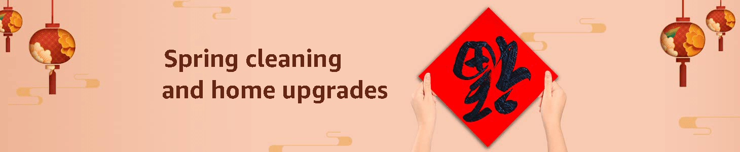 Spring cleaning and home upgrades