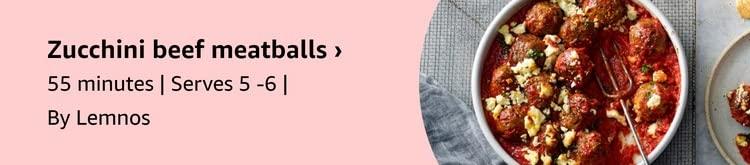 Zucchini Beef Meatballs
