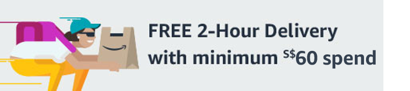 FREE 2-hour delivery with min. S$60 spend