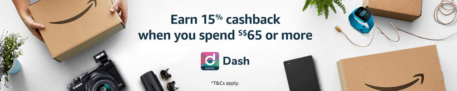 15% cashback when $65 spend