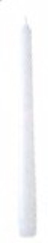 送信する音声学シャット10インチテーパーキャンドル(ホワイト)