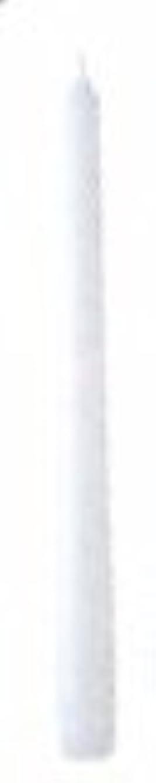 公然と山積みのバーター10インチテーパーキャンドル(ホワイト)