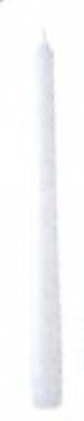 調整する原子炉習熟度10インチテーパーキャンドル(ホワイト)