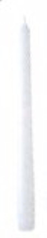 劇作家エクステント不屈10インチテーパーキャンドル(ホワイト)