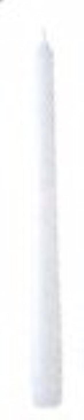租界控えめな考古学10インチテーパーキャンドル(ホワイト)