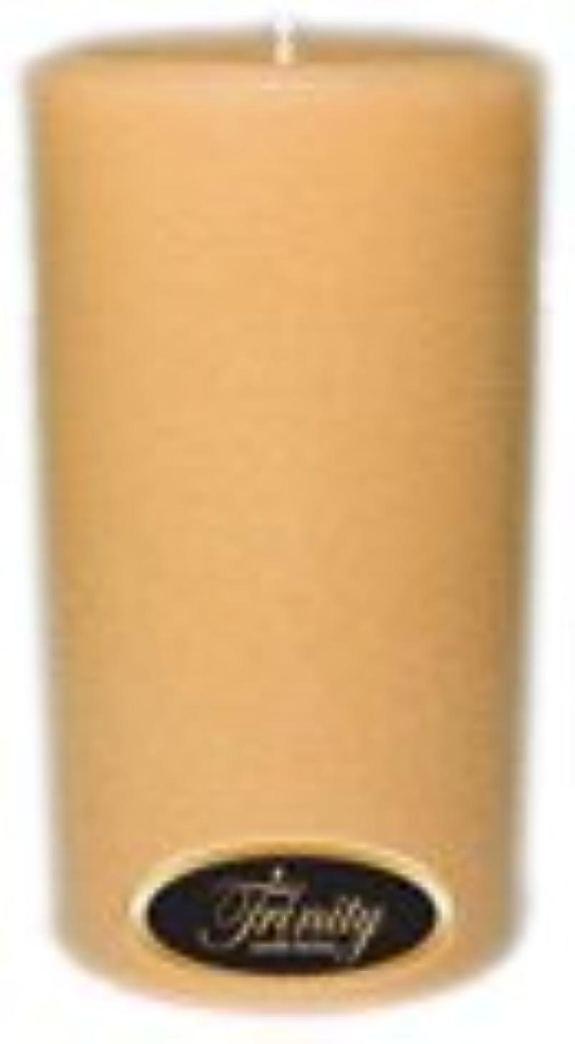 サークルワードローブゴミTrinity Candle工場 – サンダルウッド – Pillar Candle – 3 x 6