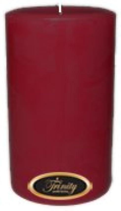 自然公園カポック半円Trinity Candle工場 – Creme Brulee – Pillar Candle – 4 x 6