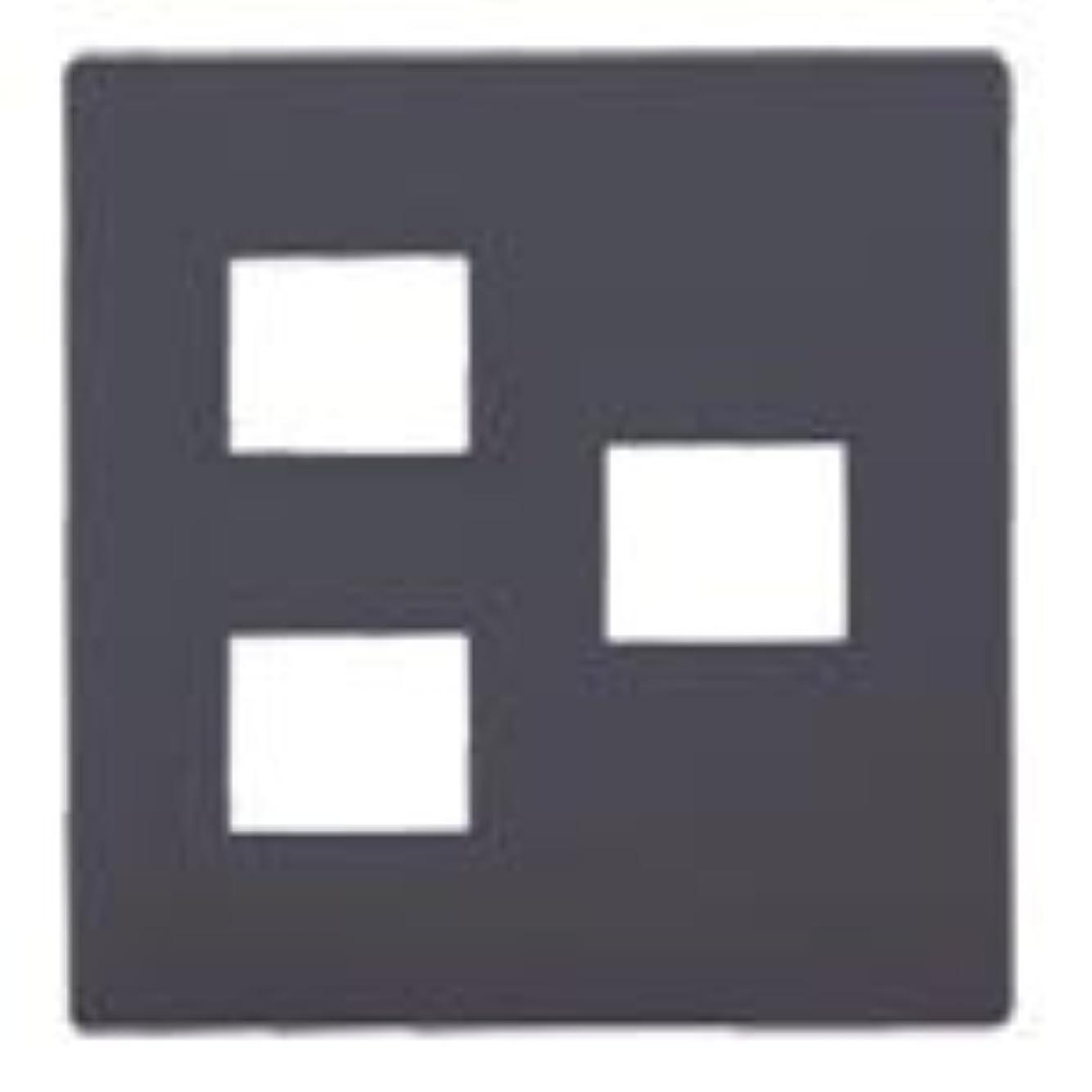 過言旅賢いPanasonic アドバンスシリーズ 簡易耐火コンセントプレート 3コ用(2コ+1コ用)マットグレー WTL7773H