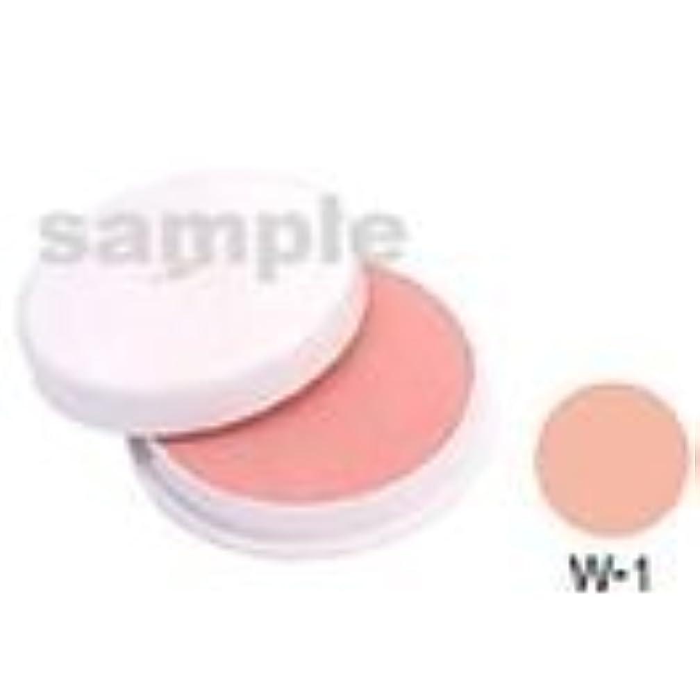 採用解説雄大な三善 フェースケーキ W-1