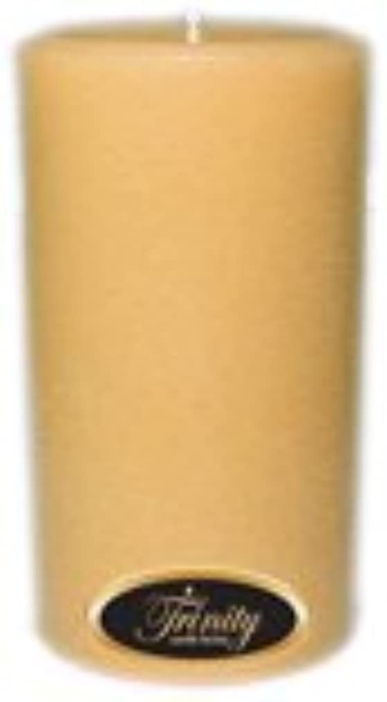 血まみれの標高第二Trinity Candle工場 – レザー – Pillar Candle – 3 x 6