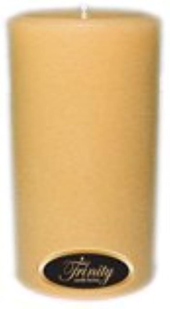 平和的ひねくれた第五Trinity Candle工場 – レザー – Pillar Candle – 3 x 6