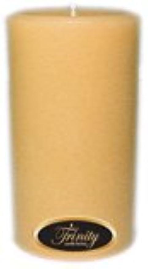 気づく本部第九Trinity Candle工場 – レザー – Pillar Candle – 3 x 6
