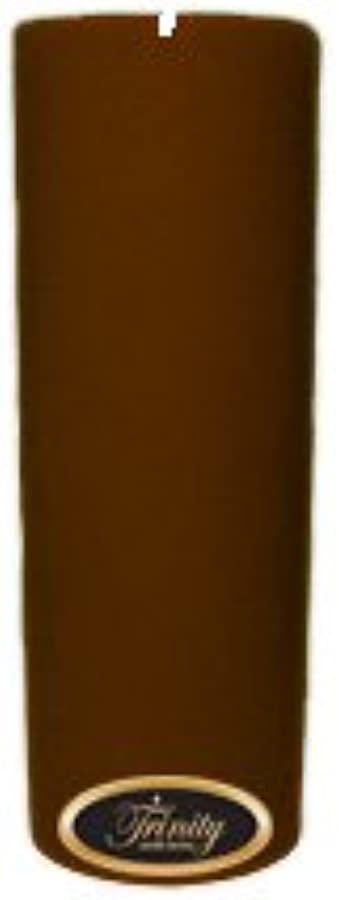 組み立てる簡潔な知覚できるTrinity Candle工場 – Gingerbread – Pillar Candle – 3 x 9