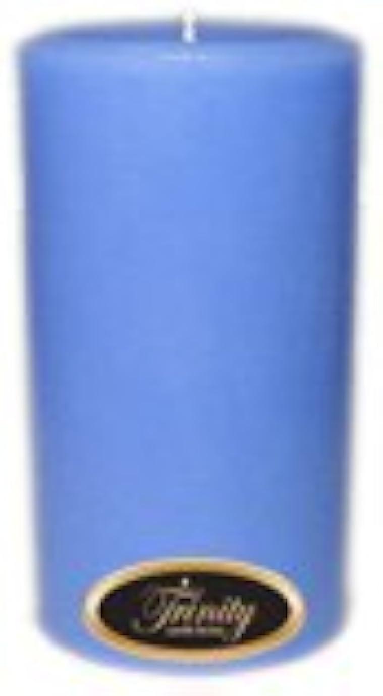 集中フィルタ絶対にTrinity Candle工場 – ベビーパウダー – ブルー – Pillar Candle – 3 x 6