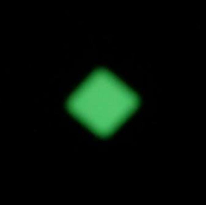 コンプリートブラジャー把握夜の暗闇で光るネイルシール【ルミシール】ひし形 1シート9枚入